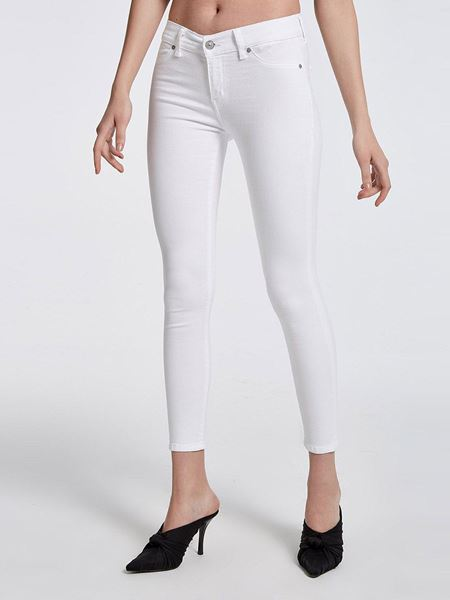 Picture of LONIA WHITE TROUSERS
