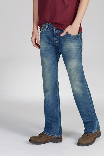 Picture of RODEN POWDER AGED TROUSERS