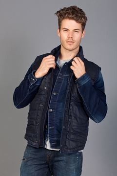 Picture of LUCA RENO BLUE WASH VEST