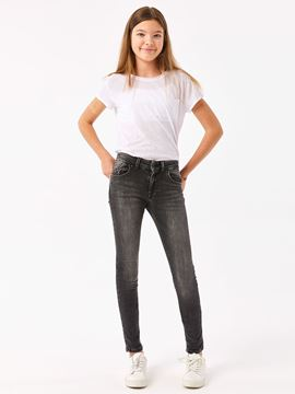 Picture of JULITA G BLACK VIVID WASH TROUSERS